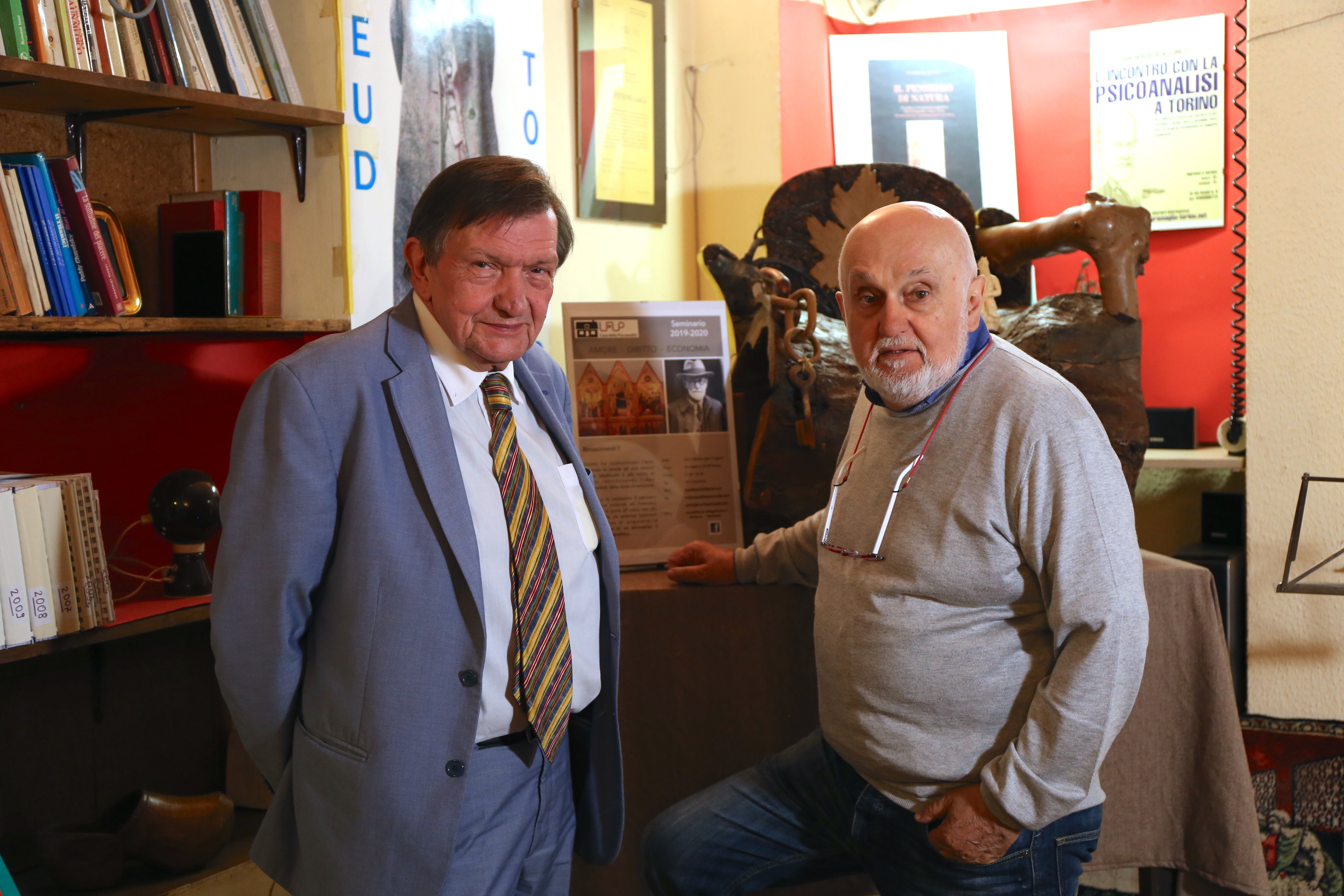 Giovanni Callegari e Giancarlo Gramaglia